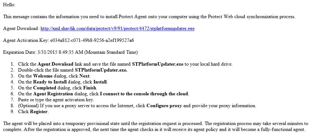 How To: Install and Use a Protect Cloud Agent