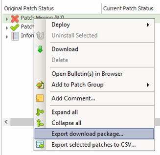 How to download content data files and patches using the