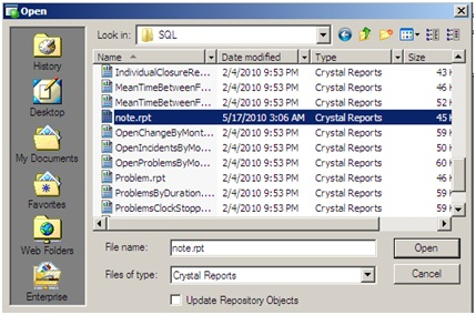 Best Known Method: Adding fields to a Crystal Report