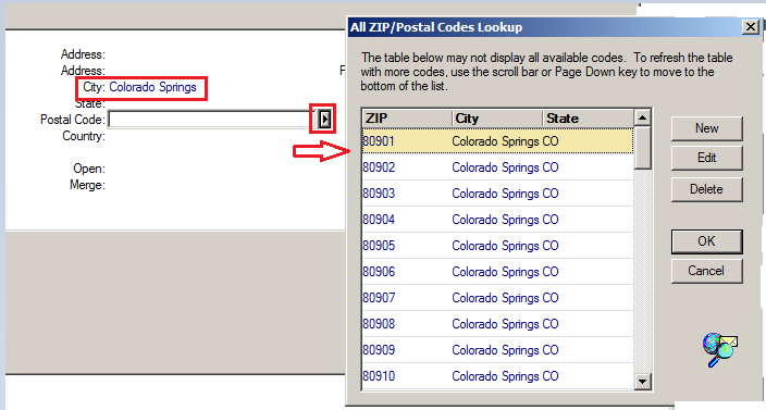 When creating a new contact record in GoldMine, users used