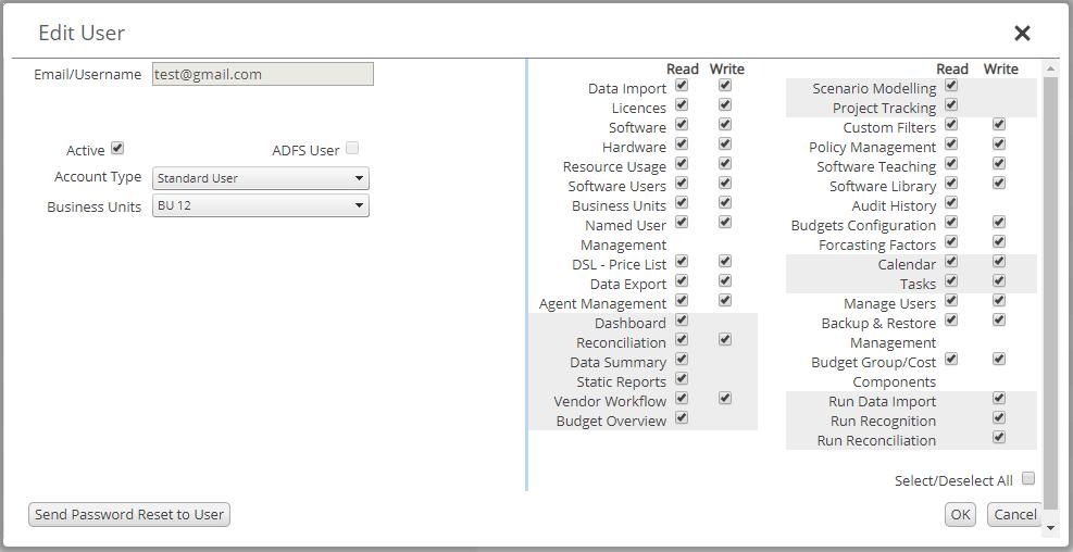Ivanti License Optimizer - Managing Users