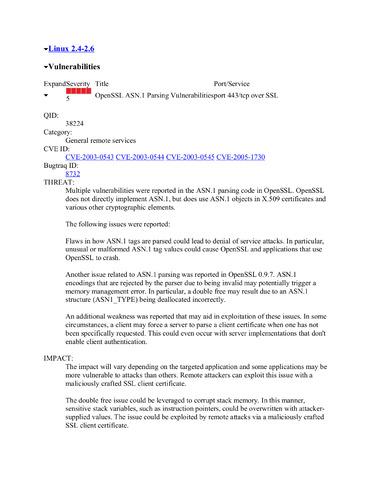 OpenSSL needs update fix for LD Management Gateway