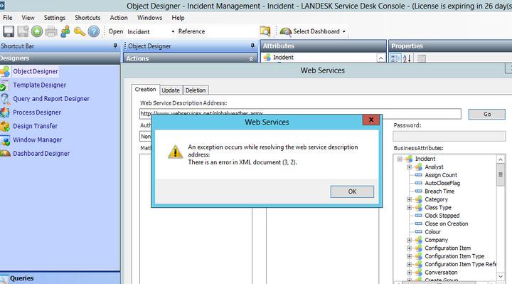 Outstanding Error Web Service In Landesk Service Desk 7 8 3 Download Free Architecture Designs Oxytwazosbritishbridgeorg