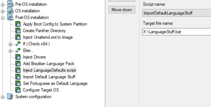 Adding Language packs to Windows 10 1809