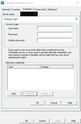 What are the password requirements for EPM?