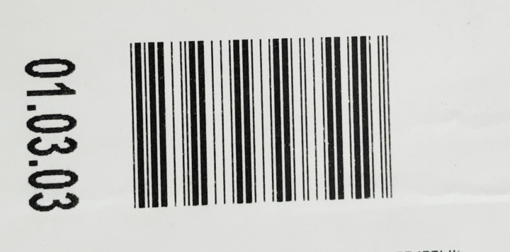 Velocity does not recognize ITF (2of5) barcode code  I have